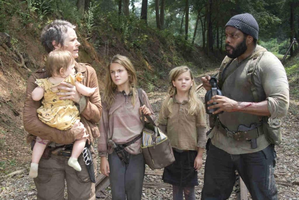 Carol, Tyrese, Judith és a két testvárlány. Az utóbbiak csúnya véget érnek.