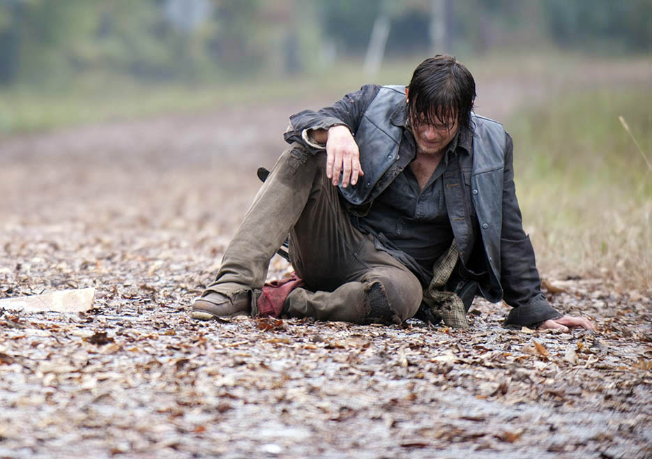 Daryl Dixon (Norman Reedus) - The Walking Dead _ Season 4, Episode 13 - Photo Credit: Gene Page/AMC