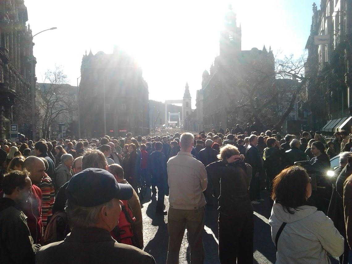 Milla tüntetés - 2012 mácius 15.