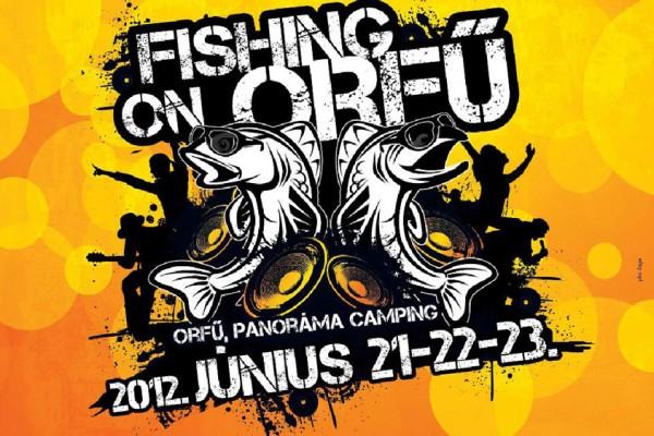 Fishing on Orfű 2012