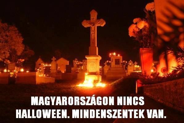 Nincs Magyarországon Halloween. És pont?