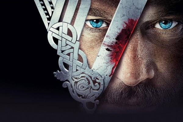 Az első évad plakátja: Vikings