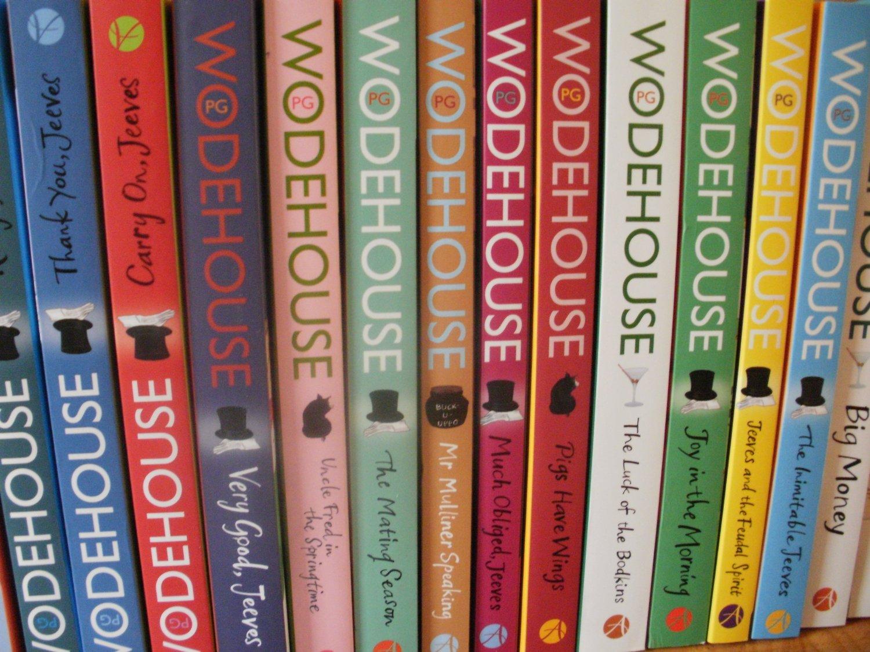 P. G. Wodehouse: könyvek