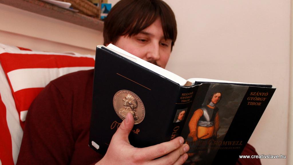 Szántó György Tibor: Oliver Cromwell